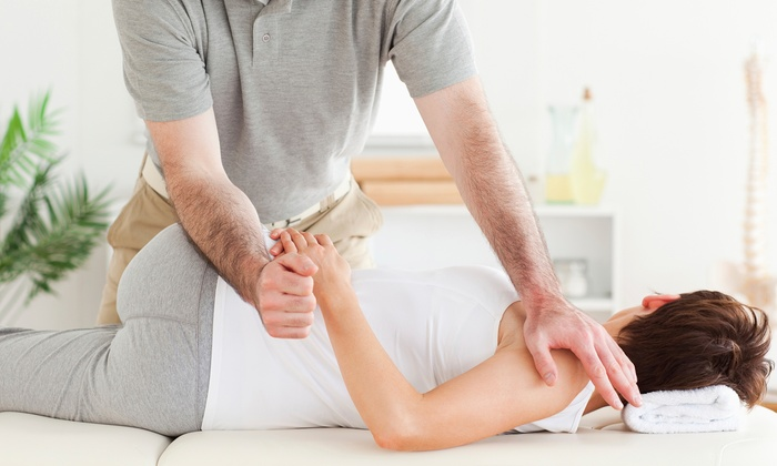 $41 for a Three-Visit Chiropractic Package with 50-Minute Massage at Chiropractic Centers ($580 Value)
