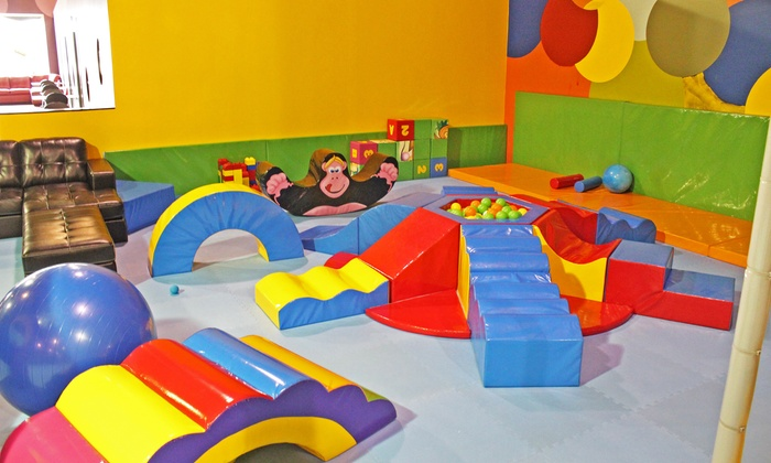 Ball Factory Indoor Play & Cafe - Fox River Commons: Open Play for Two or Four or 10-Kid, 10-Adult Party Package at Ball Factory Play & Cafe (Up to Half Off)