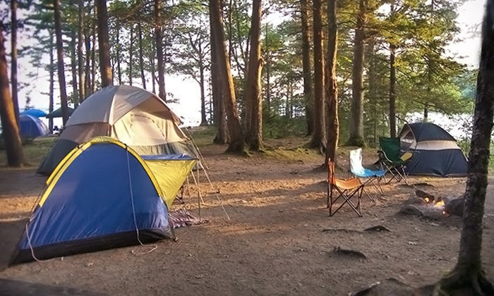 Wolfe's Neck Farm - Freeport: Spring, Summer, or Fall Camping Session at Wolfe's Neck Farm (Up to 51% Off)