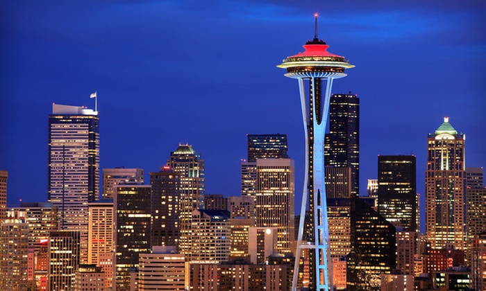 Executive Hotel Pacific - Seattle, WA: One- or Three-Night Stay with Wine and Chocolates at Executive Hotel Pacific in Seattle, WA