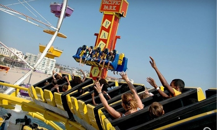 Pacific Park - Downtown Santa Monica: One-Day Play Package or a Birthday-Party Package for Up to 20 at Pacific Park (Up to 52% Off)