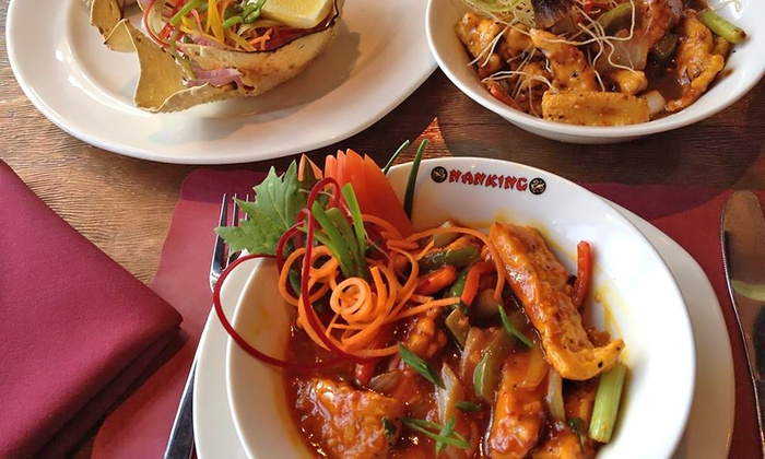Nanking Restaurant Group | Rockaway - South Ozone Park: Dinner Package for Two or Four or $20 for $40 Worth of Chinese, Indian or Thai Food at Nanking (Up to 52% Off)