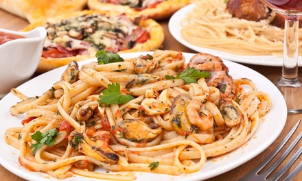 $25 for $40 Worth of Italian Food, Pizza, and Drinks at Pizza Heaven Bistro