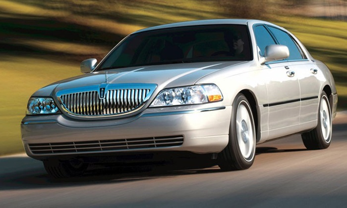 Crown Limo Kansas - Round Hill: One-Way or Round-Trip Airport Transportation for 4 or 10 People from Crown Limo Kansas  (Up to 55% Off)