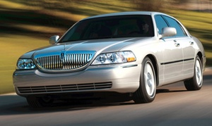 Crown Limo Kansas: One-Way or Round-Trip Airport Transportation for 4 or 10 People from Crown Limo Kansas  (Up to 55% Off)