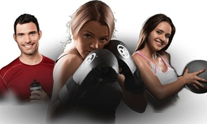 9Round 30 minute Kickboxing: Up to 56% Off Unlimited Kickboxing & Hand Wrap at 9Round 30 minute Kickboxing