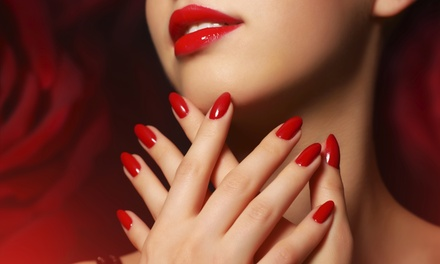 Shellac No-Chip Manicures at Pretty Patrol Salon LLC (Up to 53% Off). Two Options Available.