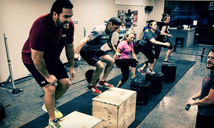 CrossFit South Lewisville - Vista Ridge Mall: 10 CrossFit Classes or One Month of Unlimited Classes at CrossFit South Lewisville (Up to 71% Off)