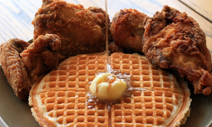 Gussie's Chicken and Waffles - Western Addition: $13 for $20 Worth of Southern Soul Food at Gussie's Chicken and Waffles
