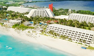 The Pyramid at Grand Oasis: All-Inclusive Stay at The Pyramid at Grand Oasis in Cancun, with Dates into December. Includes Taxes and Fees.