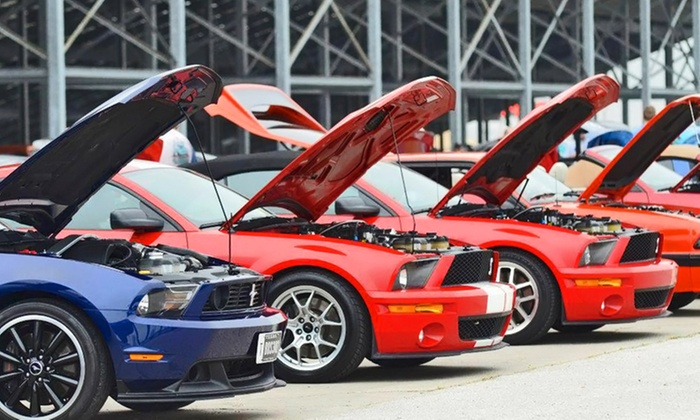 Fun Ford Weekend - Ennis: Admission for Two or Four to Fun Ford Weekend at Texas Motorplex ( 49% Off)