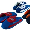 NFL Embroidered Striped Slippers: Options for AFC Teams B through J