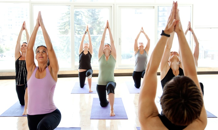 Oxygen Yoga & Fitness - Abbotsford: $49 for One Month of Unlimited Yoga Classes at Oxygen Yoga & Fitness ($132 Value)