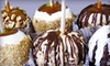 Rocky Mountain Chocolate Factory - Cottonwood Mall: $12 for Four Caramel or Candy Apples at Rocky Mountain Chocolate Factory (Up to $26 Value)