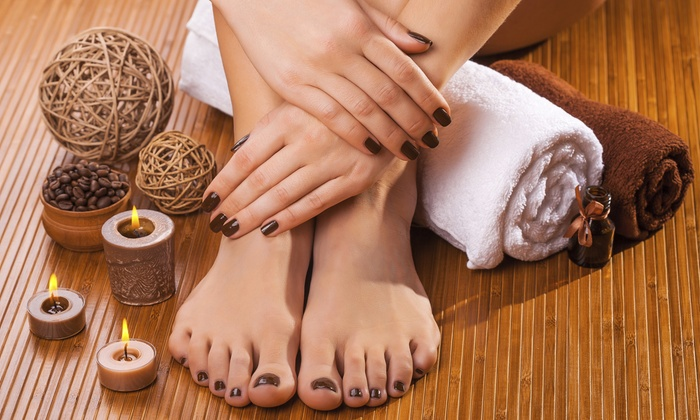 My Spa Place - My Spa Place: Spa Mani-Pedi, or Shellac Manicure with Regular Pedicure at My Spa Place (Up to 57% Off)