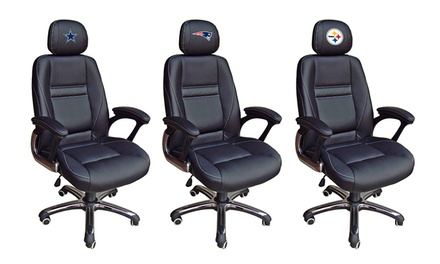 NFL Head Coach Leather Office Chair