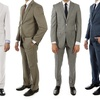 Alberto Cardinali Men's Slim-Fit Suits (2-Piece)