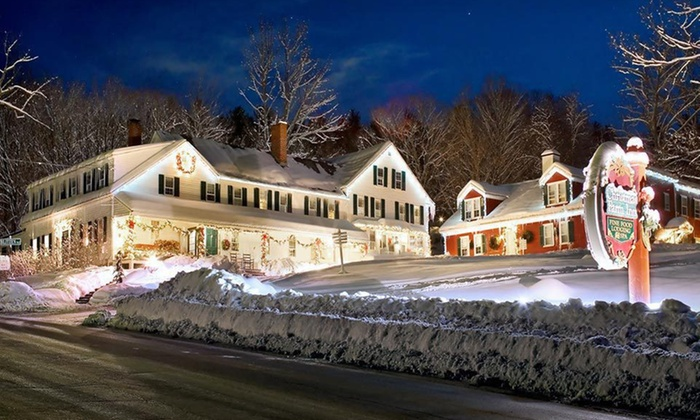 Christmas Farm Inn and Spa - Jackson, NH: One-Night Stay with Wine or Champagne at Christmas Farm Inn and Spa in Jackson, NH
