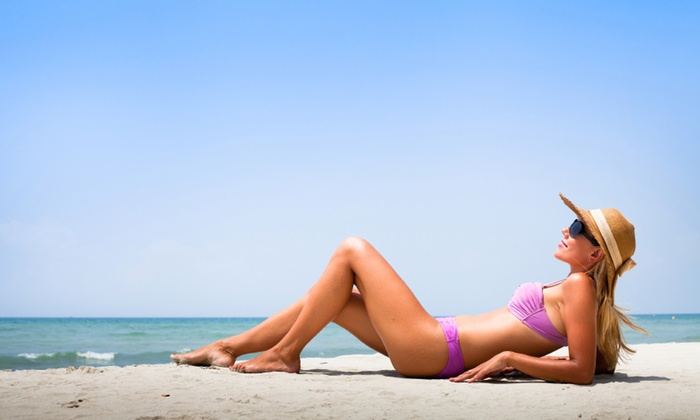 Desired Glow LLC - Multiple Locations: A Custom Airbrush Tanning Session at Desired Glow LLC (66% Off)