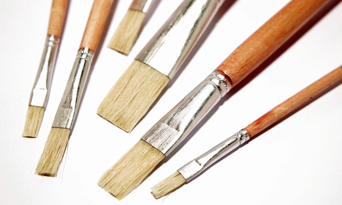 My Art on Canvas - Kalamazoo: Painting Class for Two or Four from My Art on Canvas (Up to 51% Off)