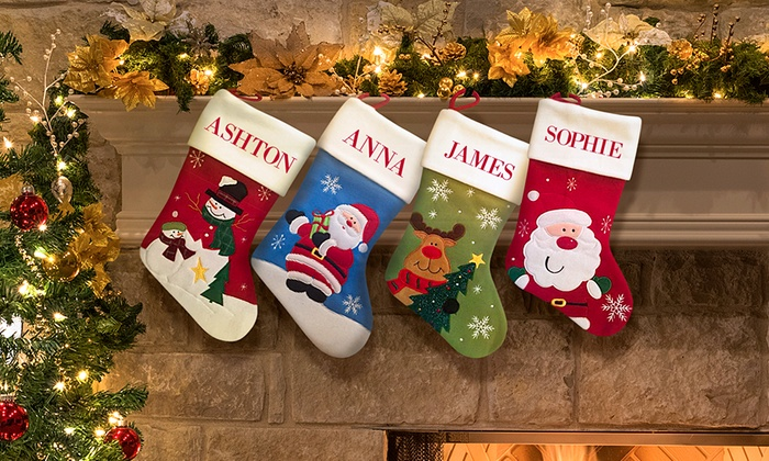 Dinkleboo: Custom Christmas Stockings from Dinkleboo (Up to 69% Off)