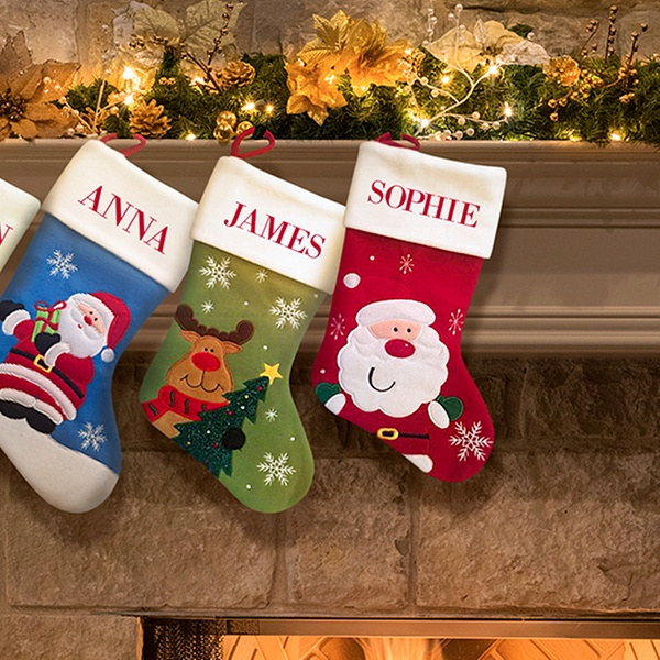 Custom Christmas Stockings From Dinkleboo