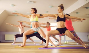 Hot Yoga Wimbledon: Five Yoga Sessions of Choice at Hot Yoga, Wimbledon (70% Off)