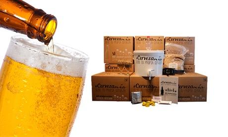 Kit de elaboración artesanal de cerveza