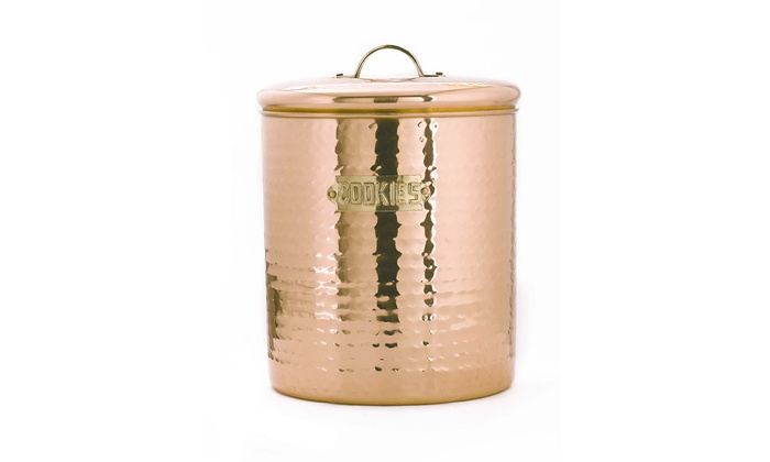Classic Copper Hammered Pantryware Groupon