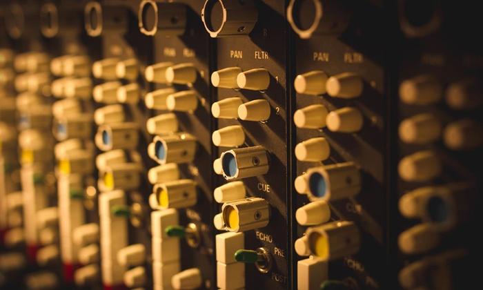 Retro City Studios - Philadelphia: One- or Four-Hour Recording Session with CD at Retro City Studios (Up to 79% Off)