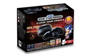 Sega genesis classic game console with 80 built in games - Sega genesis classic console with built in games ...