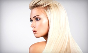 Paul James Salon: Keratin Treatment with Optional Haircut at Paul James Salon (Up to 64% Off)