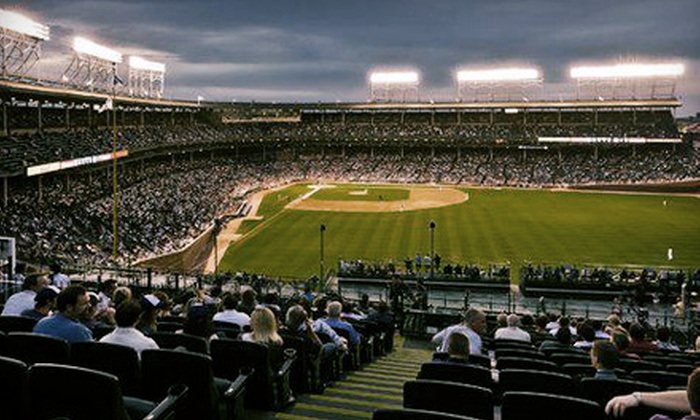 Chicago Cubs - Multiple Locations: Rooftop View of a Chicago Cubs Game at Sheffield Baseball Club or Wrigley Field Rooftop Club (Up to 56% Off)