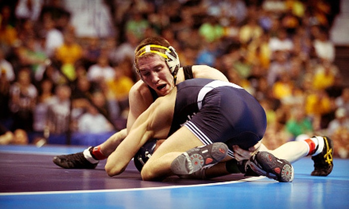 University of Iowa Wrestling - Lincoln: $15 for an Iowa Hawkeyes Men's Wrestling Match for Two at Carver-Hawkeye Arena on February 10 or 16 (Up to $30 Value)
