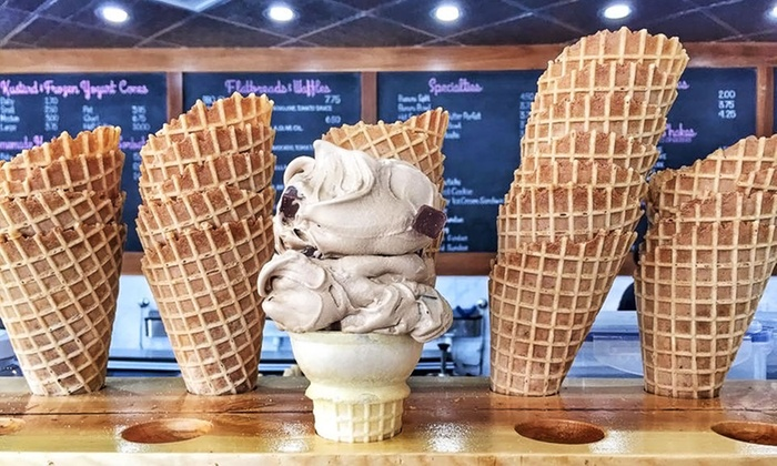 Pav's Creamery - Green: $9.99 for Three Groupons, Each Good for $6 Worth of Ice Cream and More at Pav's Creamery ($18 Value)