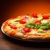 XXL Pizza Margherita für Zwei