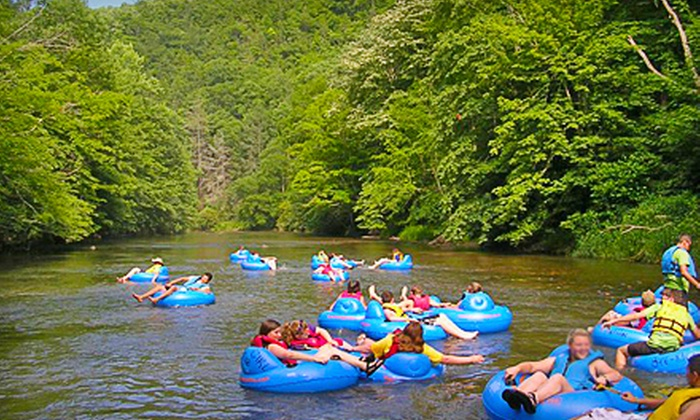RiverGirl Fishing Company - Elk: River-Tubing Excursion for One, Four, or 15 from RiverGirl Fishing Company (Up to 54% Off)