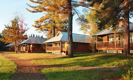 1- or 2-Night Stay for Up to Six at Lake Parlin Lodge & Cabins in Parlin Pond, ME. Combine Up to 8 Nights.