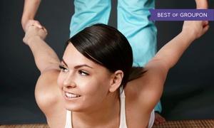Thai Massage Retreat: Organic Deluxe Mani-Pedi with Optional Thai Massage at Thai Massage Retreat (Up to 44% Off)