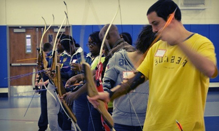 Hidden Gems Solutions - St. Francis College: 90-Minute Archery Lesson with Equipment Rental for One or Two from Hidden Gems Solutions (Half Off)