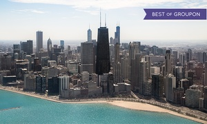 Chicago Helicopter Experience: Daytime or Nighttime Helicopter Tour for Two from Chicago Helicopter Experience