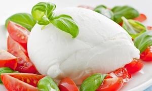Vento Nel Vento: Menu vegetariano di 3 portate con verdure di stagione e vino per 2 o 4 persone da Vento Nel Vento (sconto fino a 64%)