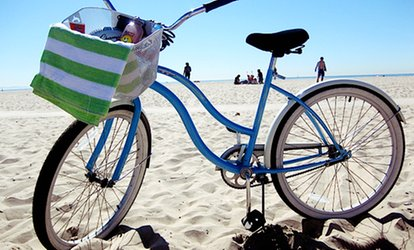 image for Full-Day Beach-Cruiser Rental for One, Two, or Four at Bike Curious Rentals (Up to 49% Off)