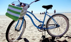 Bike Curious Rentals: Full-Day Beach-Cruiser Rental for One, Two, or Four at Bike Curious Rentals (Up to 51% Off)