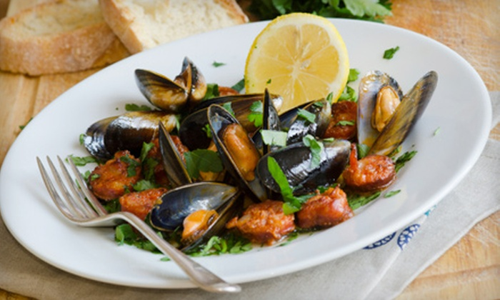 Maria's Cafe & Italian Restaurant - Petersburg: $10 for $20 Worth of Sicilian Dinner at Maria's Cafe & Italian Restaurant (Half Off)