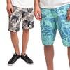 Indigo Star Men's Printed Walk Shorts