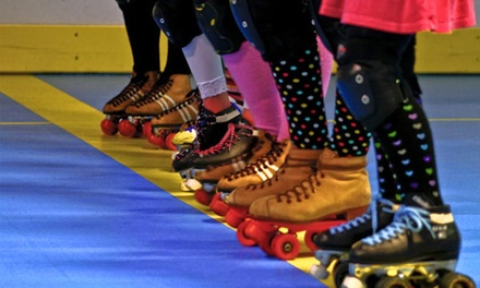 Admission and Skate Rental for Two or Four at Skate San Diego (Up to 43% Off)