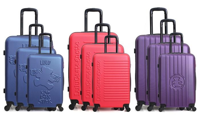 2e3853a788 jusqu'à 85% Mix set valises Lulu Castagnette | Groupon