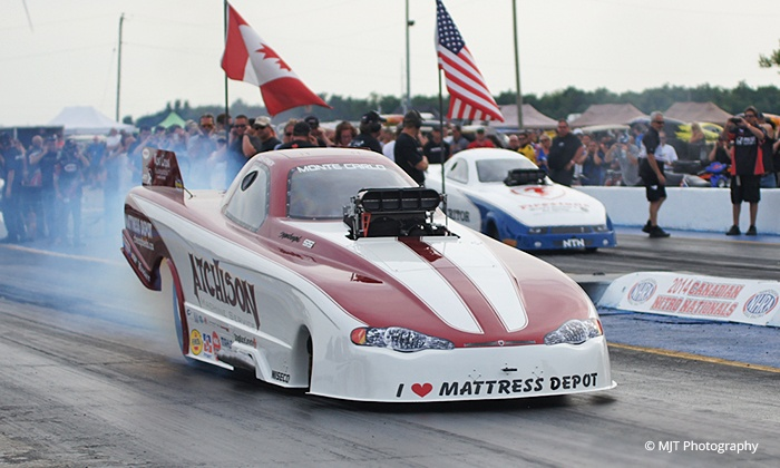 Victoria Day Weekend - Race Track: One- or Three-Day Pass to Victoria Day Weekend Drag-Racing Event at Toronto MotorSports Park on May 15–17 (50% Off)