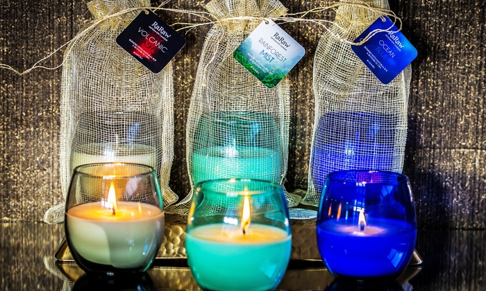 RaRaw Candles - RaRaw: $30 or $60 Worth of Candles from RaRaw Candles (Up to 60% Off)